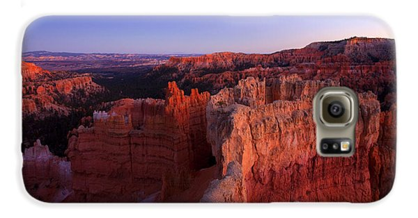 Desert Galaxy S6 Case - Temple Of The Setting Sun by Mike  Dawson
