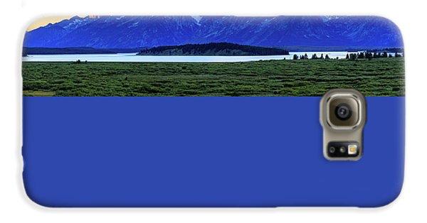 Teton Sunset Galaxy S6 Case by David Chandler