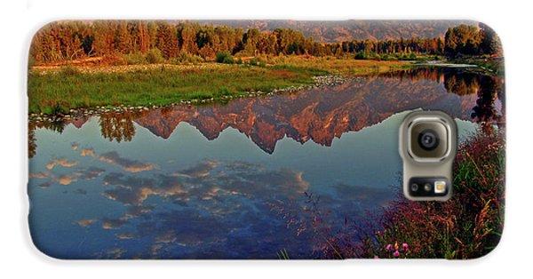 Mountain Galaxy S6 Case - Teton Wildflowers by Scott Mahon