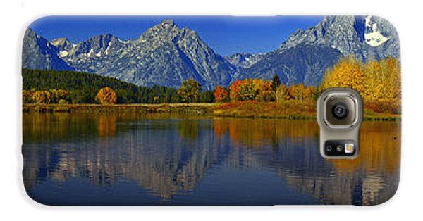 Tetons From Oxbow Bend Galaxy S6 Case