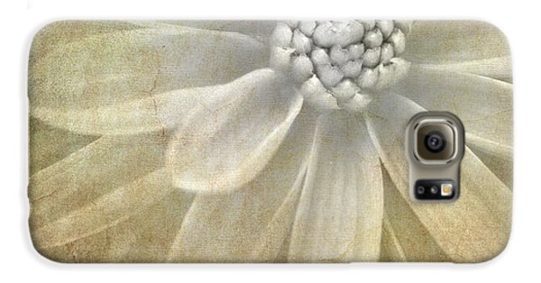 Floral Galaxy S6 Case - Textured Dahlia by Meirion Matthias