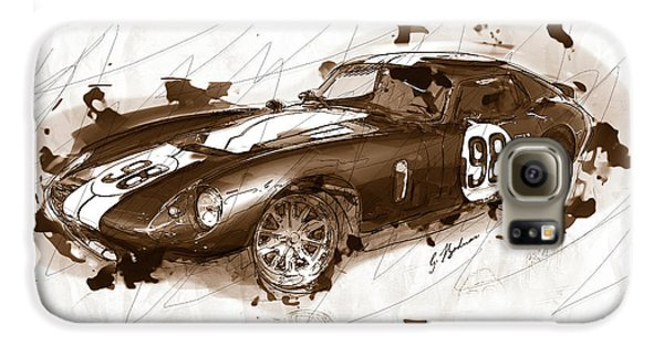 The 1965 Ford Cobra Mustang Galaxy S6 Case