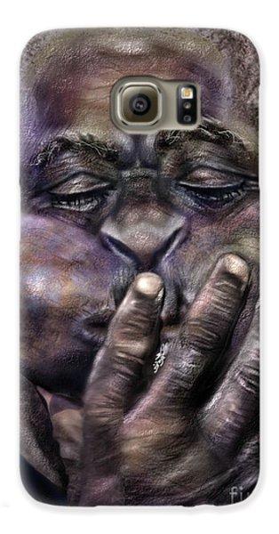 Trumpet Galaxy S6 Case - The Amazing Gillespie  by Reggie Duffie