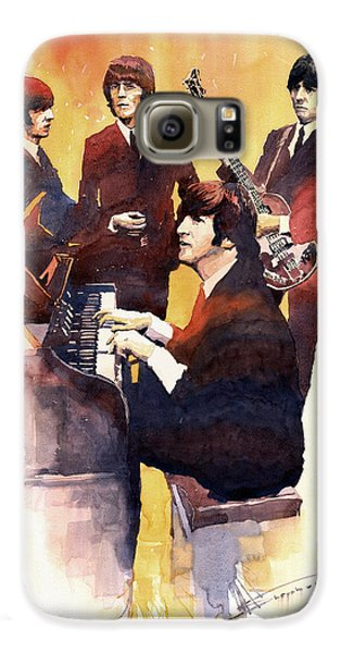 Musician Galaxy S6 Case - The Beatles 01 by Yuriy Shevchuk