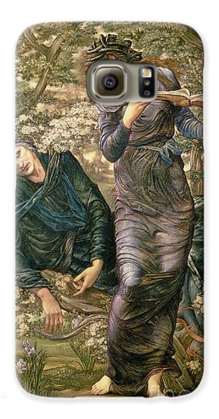 Wizard Galaxy S6 Case - The Beguiling Of Merlin by Sir Edward Burne-Jones
