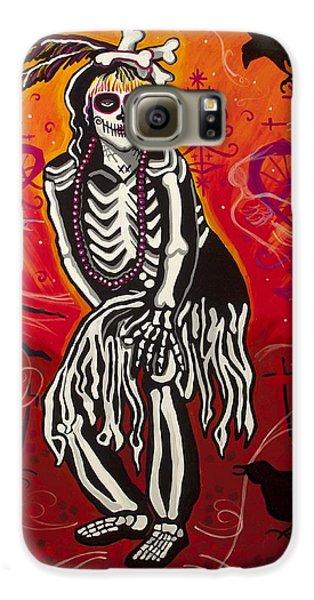 Voodoo Galaxy S6 Case - The Big Queen by Mardi Claw
