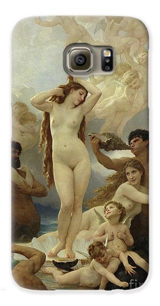 The Birth Of Venus Galaxy S6 Case by William-Adolphe Bouguereau