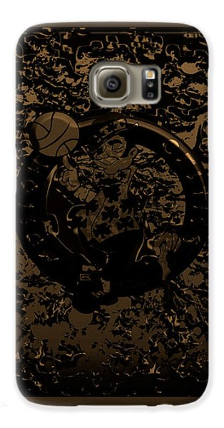 The Boston Celtics 1f Galaxy S6 Case by Brian Reaves