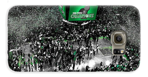 The Boston Celtics 2008 Nba Finals Galaxy S6 Case by Brian Reaves