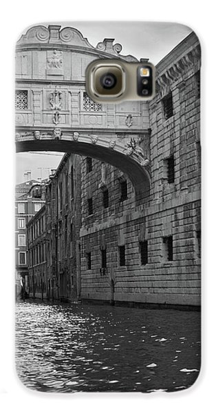 Galaxy S6 Case featuring the photograph The Bridge Of Sighs, Venice, Italy by Richard Goodrich