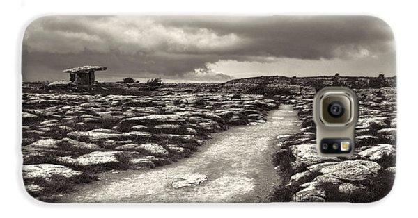 The Burren Ireland With Poulnabrone Dolmen Galaxy S6 Case