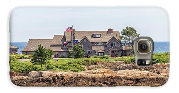 The Bush Family Compound On Walkers Point Galaxy S6 Case by Brian MacLean