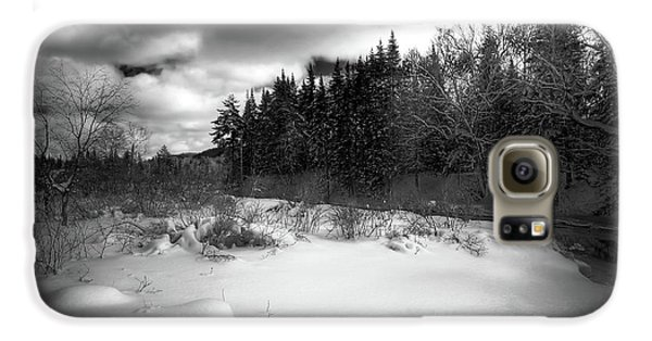 Galaxy S6 Case featuring the photograph The Calm Of Winter by David Patterson