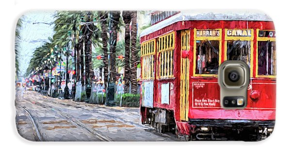 Galaxy S6 Case featuring the photograph The Canal Street Streetcar by JC Findley