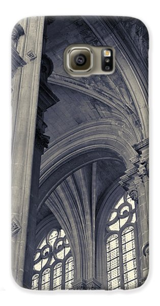 Galaxy S6 Case featuring the photograph The Columns Of Saint-eustache, Paris, France. by Richard Goodrich