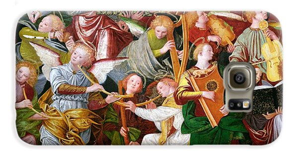 Trumpet Galaxy S6 Case - The Concert Of Angels by Gaudenzio Ferrari