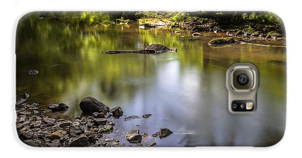 Galaxy S6 Case featuring the photograph The Devon River by Jeremy Lavender Photography