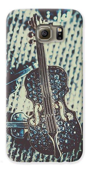 Violin Galaxy S6 Case - The Diamond Symphony by Jorgo Photography - Wall Art Gallery