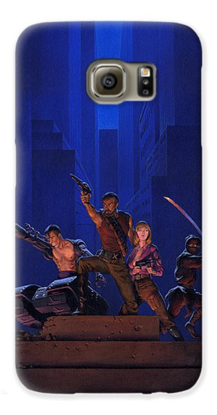 Knight Galaxy S6 Case - The Eliminators by Richard Hescox