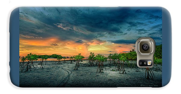 Mangrove Galaxy S6 Case - The Endless Trail by Marvin Spates