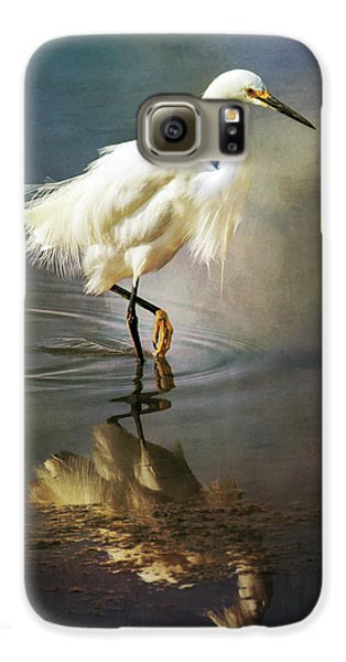 The Ethereal Egret Galaxy S6 Case