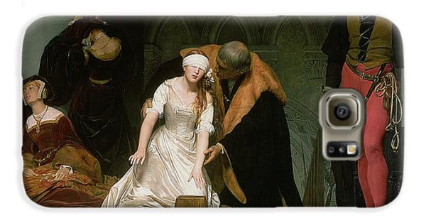The Execution Of Lady Jane Grey Galaxy S6 Case by Hippolyte Delaroche