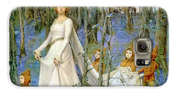 Elf Galaxy S6 Case - The Fairy Wood by Henry Meynell Rheam