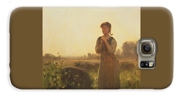 The Farm Girl Galaxy S6 Case by Arthur Hacker