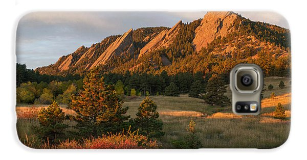 The Flatirons - Autumn Galaxy S6 Case