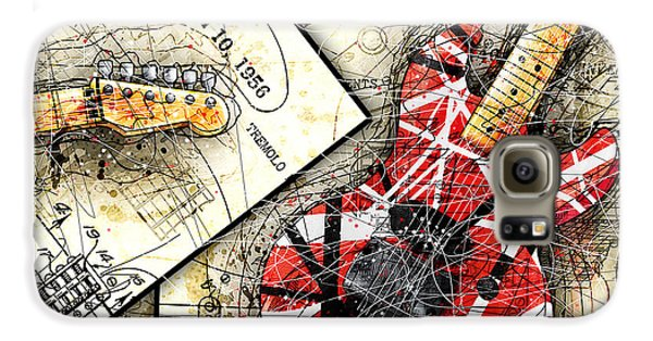 Van Halen Galaxy S6 Case - The Frankenstrat by Gary Bodnar