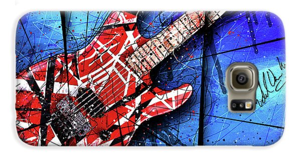 The Frankenstrat Vii Cropped Galaxy S6 Case by Gary Bodnar