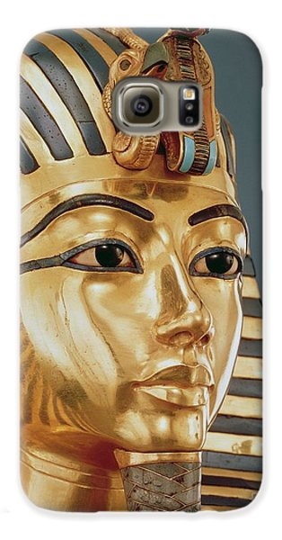 Vulture Galaxy S6 Case - The Funerary Mask Of Tutankhamun by Unknown