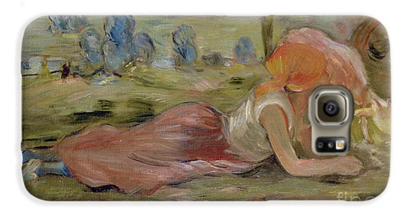 The Goatherd Galaxy S6 Case by Berthe Morisot