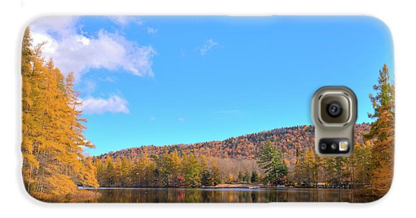 Galaxy S6 Case featuring the photograph The Golden Tamaracks Of Woodcraft Camp by David Patterson