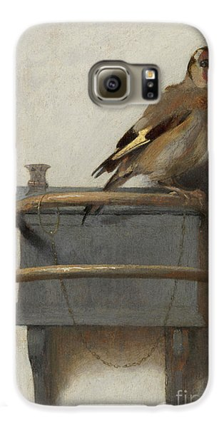 The Goldfinch, 1654  Galaxy S6 Case by Carel Fabritius