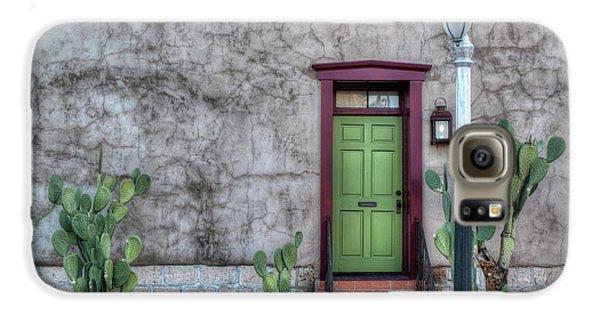 The Green Door Galaxy S6 Case by Lynn Geoffroy