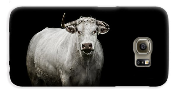 Bull Galaxy S6 Case - The Guardian by Paul Neville