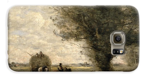The Haycart Galaxy S6 Case by Jean Baptiste Camille Corot
