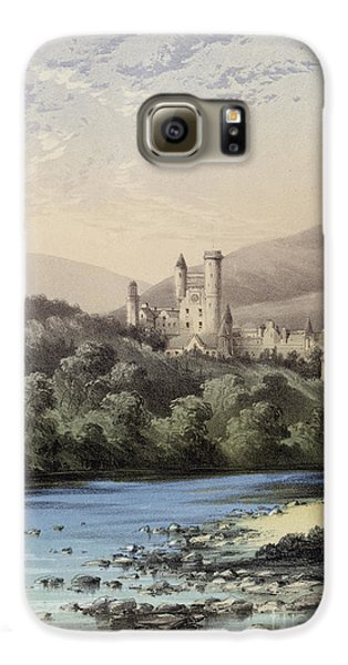 The Highland Home, Balmoral Castle Galaxy S6 Case by English School