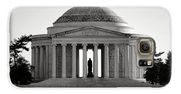 Jefferson Memorial Galaxy S6 Case - The Jefferson Memorial  by Olivier Le Queinec