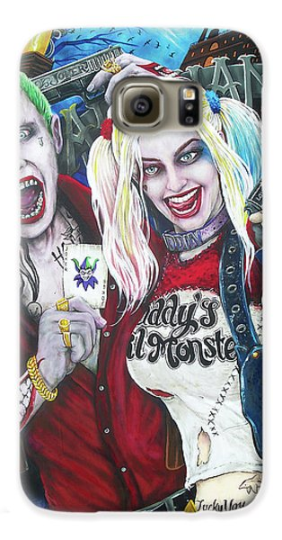 The Joker And Harley Quinn Galaxy S6 Case