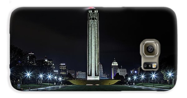 Galaxy S6 Case featuring the photograph The Kansas City Liberty Memorial by JC Findley