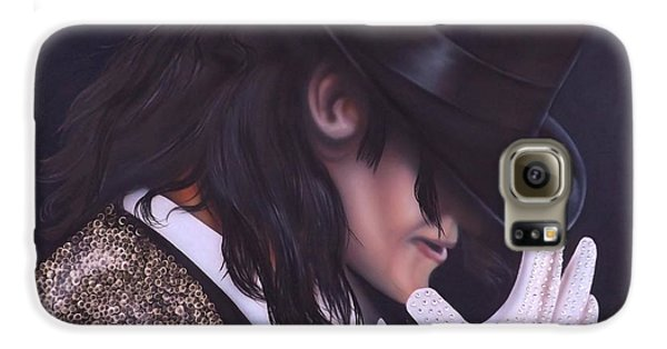 The King Of Pop Galaxy S6 Case by Darren Robinson