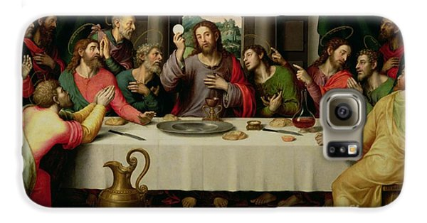 Food And Beverage Galaxy S6 Case - The Last Supper by Vicente Juan Macip
