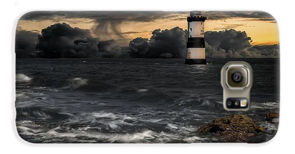 Puffin Galaxy S6 Case - The Lighthouse Storm by Adrian Evans