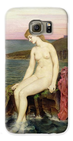 The Little Sea Maid  Galaxy S6 Case by Evelyn De Morgan