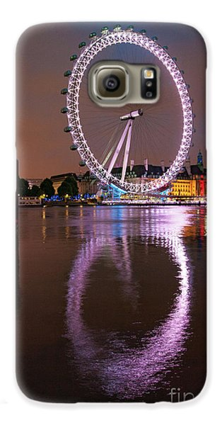 The London Eye Galaxy S6 Case by Nichola Denny