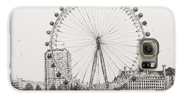 London Galaxy S6 Case - The London Eye by Vincent Alexander Booth