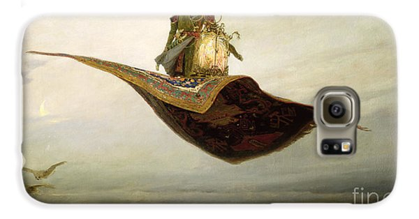 Magician Galaxy S6 Case - The Magic Carpet by Apollinari Mikhailovich Vasnetsov