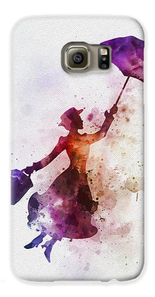 London Galaxy S6 Case - The Magical Nanny by Rebecca Jenkins